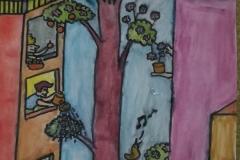 #IOSONOSTATOACASA - Disegno di Maddalena Cassinis, 3B