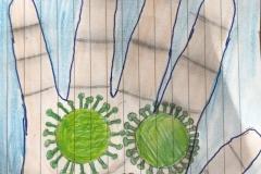 #IOSONOSTATOACASA - Disegno di Caterina Fazio, 1A