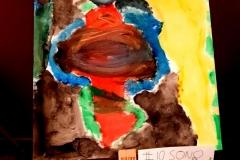 #IOSONOSTATOACASA - Dipinto di Martino Sparaciari, 1A